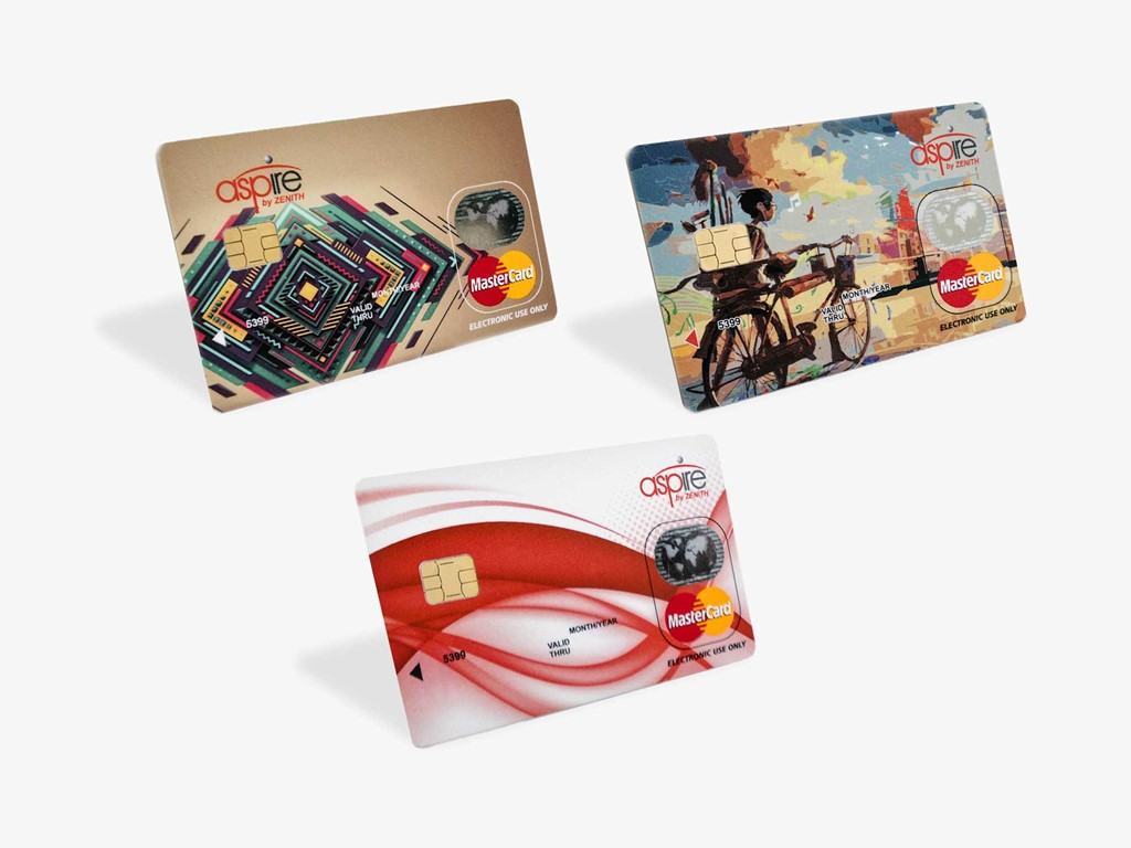 Student can choose any of the three-different card designs of Ultra, Ace & Zeal at N500 only. One of them is sure to mirror your lifestyle and reflect your ...