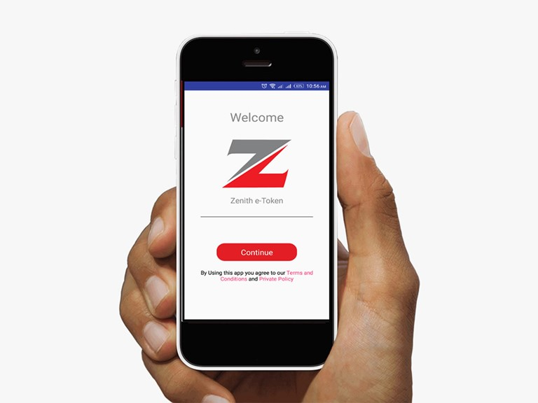 eToken App - Zenith Bank