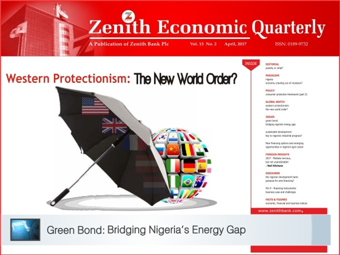 Zenith Economic Quarterly Vol.13 No.2 April, 2017