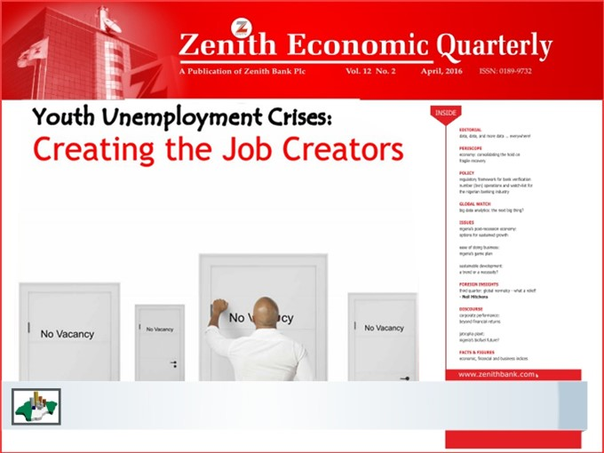 Zenith Economic Quarterly Vol.12 No.2 April, 2016