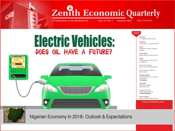 Zenith Economic Quarterly Vol.14 No.1 January, 2018