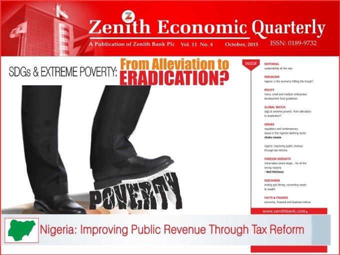 Zenith Economic Quarterly Vol.11 No.4 October, 2015