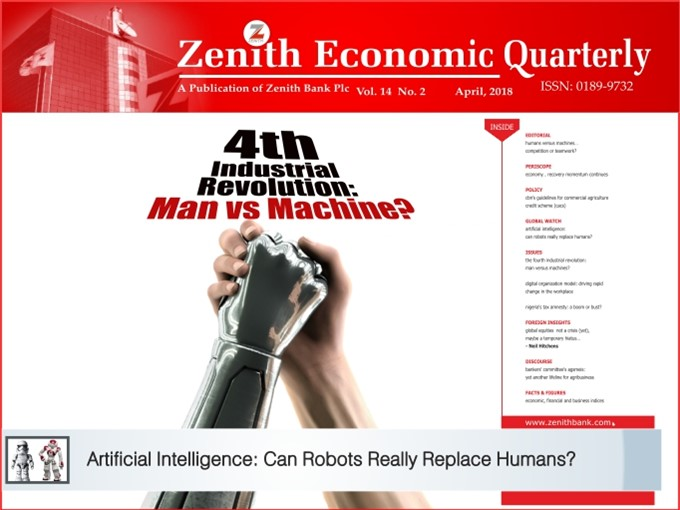 Zenith Economic Quarterly Vol.14 No.2 April, 2018