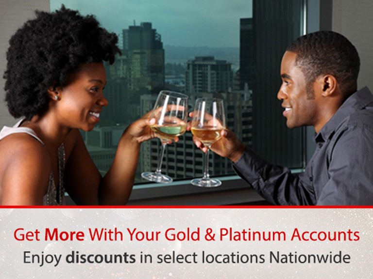 Discount on your Platinum Card
