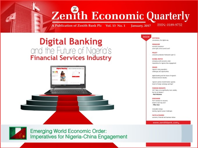 Zenith Economic Quarterly Vol.13 No.1 April, 2017