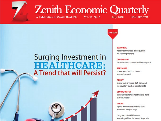 Zenith Economic Quarterly Vol.16 No.3 July 2020
