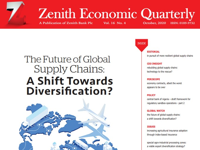 Zenith Economic Quarterly Vol.16 No.4 October 2020
